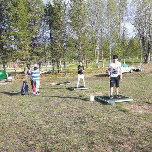 Utflykt med golf